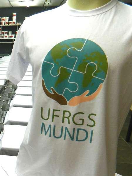 Camisetas Personalizadas Porto Alegre Florianópolis Algodão Impressão 4×0 Serigrafia 20un